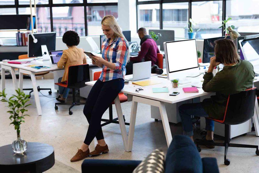 Convierta su oficina en un espacio innovador con estas herramientas